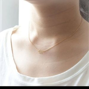 NOW AVAILABLE!! lotus pennant necklace